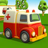 Cartoon Ambulance Truck