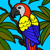 beautiful-parrot-coloring