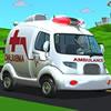 cartoon-ambulance-van