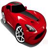 red-street-king-car